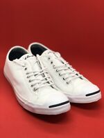 Converse Jack Purcell Classic Low Top Shoes Men's size 8.5 White 146430C