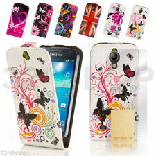 Étuis, housses et coques en cuir pour téléphone mobile et assistant personnel (PDA) Samsung à motifs