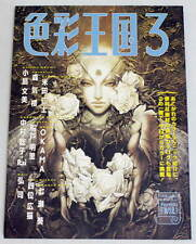 Shikisai Oukoku Vol.3 book art illust Ayami Kojima Castle Vania Shinkiro making
