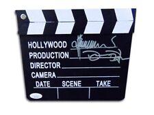 Luc Besson Dave DeHaan Dual Autographed Mini Movie Clapper Valerian JSA DD73569