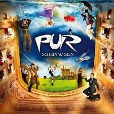 PUR - SCHEIN & SEIN (DELUXE EDITION)  CD + DVD  14 TRACKS DEUTSCH-POP  NEU