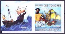 Magellan, Navigator Explorer, Ships, Comoros Imperf 2009 MNH