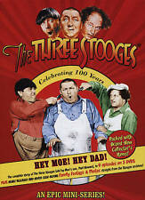 The Three Stooges Celebrating 100 Years Mini-Series  3 DVD Set