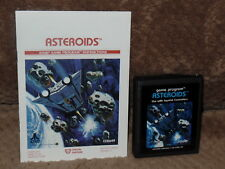 VINTAGE ATRI & SEARS VIDEO COMPUTOR SYSTEM GAME ASTEROIDS & MANUAL WORKING