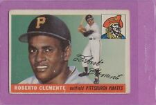1955 Topps Roberto Clemente #164 Pirates HOF Rookie Card Mid Range