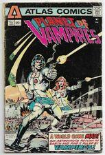 Planet of Vampires #1 VG (1975) Atlas Comics
