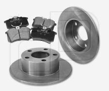 2 Bremsscheiben und 4 Bremsbeläge SKODA Superb Hinterachse  hinten 245 mm