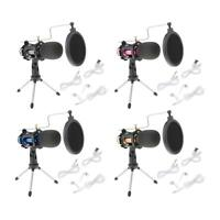 Karaoke Microphone Live Wedding Handheld Vocal Cardioid Mic Noise Cancelling