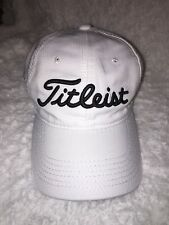 b10d2bf6b06 New listing Titleist Hat Golf Cap GNYADA Logo RWC Logo White Black Logo EUC