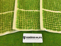 Mini Spring Tufts Set - 2mm 4mm 6mm Static Grass Model Railway Scenery Warhammer