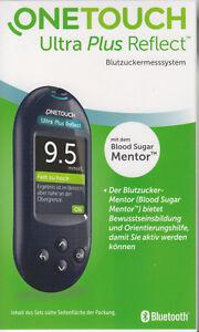 OneTouch Ultra Plus Reflect Blutzucker-Messgerät mmol/l plus Teststr. - neu+OVP
