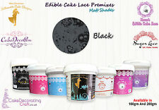Cake Lace Edible | Ready to Spread Premixes | Cakes Cupcakes Cookies Craft