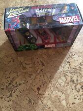 Johnny Lightning MARVEL 2002 1/64 Scale Hulk Spiderman Wolverine Diecast Set