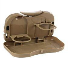 Beige Autorücksitz Mesa Multifuncional Plegable Portavasos Juego de