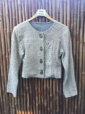 Embroidered Bolero Jacket - unique, sophisticated, one-of-a-kind! Neutral colors
