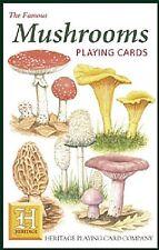 Mushrooms set of 52 playing cards + jokers (hpc)