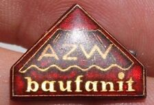 27503 Abzeichen BSG AZW BAUFANIT DRESDEN 50er/60er Jahre