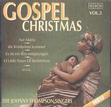 Gospel Christmas, Vol. 2 by The Johnny Thompson Singers (CD, High Grade) Aleluia