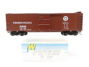 HO Walthers Limited Edition Series 932-2051A PRR Pennsylvania 40' Boxcar #51966
