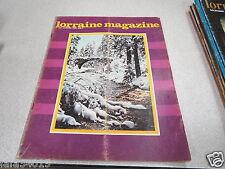 LORRAINE MAGAZINE N° 246 janvier 1978 épisode sorcellerie en lorraine *
