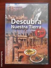 DVD DESCUBRA NUESTRA TIERRA - CONTIENE 8 DVDS - COMO NUEVO (6M)