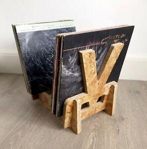 "Vinyl Record Storage Display Rack Stores Up to 65 x 12"" LP's (V Design)"