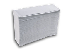 Z FOLD HAND TOWELS - 2 PLY - WHITE - CASE OF 3000