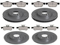 HONDA CIVIC 1.4 1.8 I-VETC 2.2 I-DTEC BRAKE DISCS AND PADS FRONT & REAR - 280MM