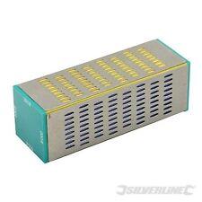 Blocco affilatura Diamond 160 x 55 mm lato / GIARDINAGGIO strumenti Silverline 374894
