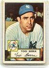 1952 TOPPS BASEBALL #191 YOGI BERRA - NEW YORK YANKEES, HOF, 080814