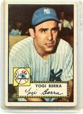 1952 TOPPS BASEBALL #191 YOGI BERRA - NEW YORK YANKEES, HOF, 080814