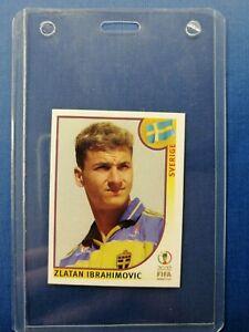 ZLATAN IBRAHIMOVIC ROOKIE #456 RC WORLD CUP 2002