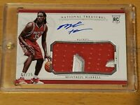 2015 National Treasures Montrezl Harrell Auto RC RPA SILVER /25 Rookie !!