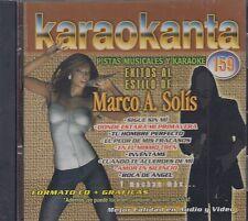 Marco Antonio Solis Pistas Musicales y Karaoke New Nuevo sealed