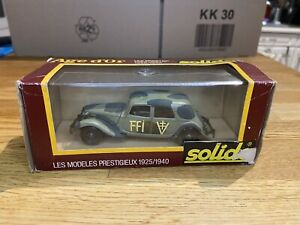 Solidi Age D Or 32b Traction Militaire FFI