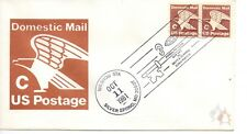 US FDC #1947 C Rate Eagle Pair Unofficial, Andrews (8199)