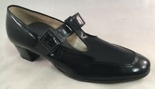Foot So Port Steppettes Vintage Womens T-Strap Shoes Cp 1532 Size 9.5 A