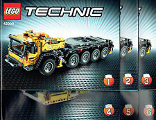 LEGO® Technic BAUANLEITUNG für 42009 Mobiler Schwerlastkran NEU ONLY INSTRUCTION