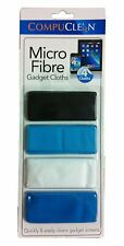 Compuclean - Micro Fibre Gadget Cloth - 4 Cloths Ideal For Phones Cd's Dvd's