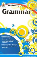 Skill Builders Grammar Workbook Grade 5