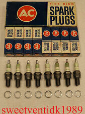 'NOS' AC-44XL Spark Plugs.....1967-1968 L-88....1968 L-89.....(one step hotter)