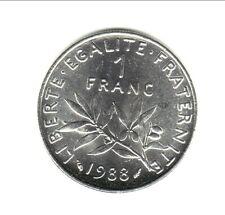 1 FRANC SEMEUSE 1988  FDC cote 35 EURO  a saisir  !! SUPER PROMO ! a saisir VITE