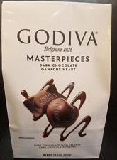 Godiva Masterpieces Dark Chocolate Ganache Heart 14.6oz