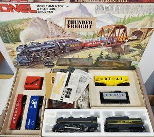 Lionel 6-1151 UP Thunder Freight Steam Loco, Tender, 4 Cars Starter Set EX [B146