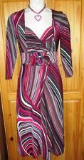 Debenhams Polyester Casual Striped Dresses for Women