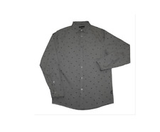 Diamond Supply Co Mens Long Sleeve Shirt Grey XL Great Condition Zoo York Stussy