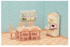 Calico Critters Furniture Dining Room Set Sylvanian Families Miniature Toys