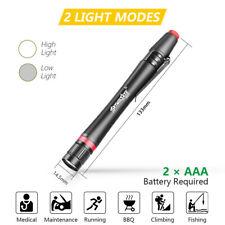 Pen Light Waterproof Pocket LED Flashlight LED Torch Mini Penlight Light Lamp