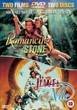 Romancing the Stone + Jewel of the Nile New DVD R4 Michael Douglas K Turner