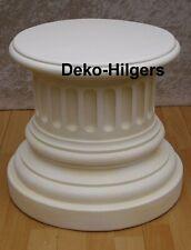 Säule Stuckgips Dekosäule Podest Tisch Wohnen Möbel Säulen Deko 1007 Crem